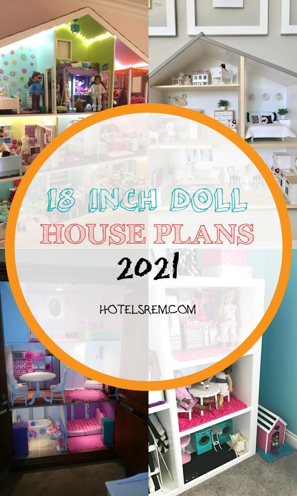 18 Inch Doll House Plans 2021