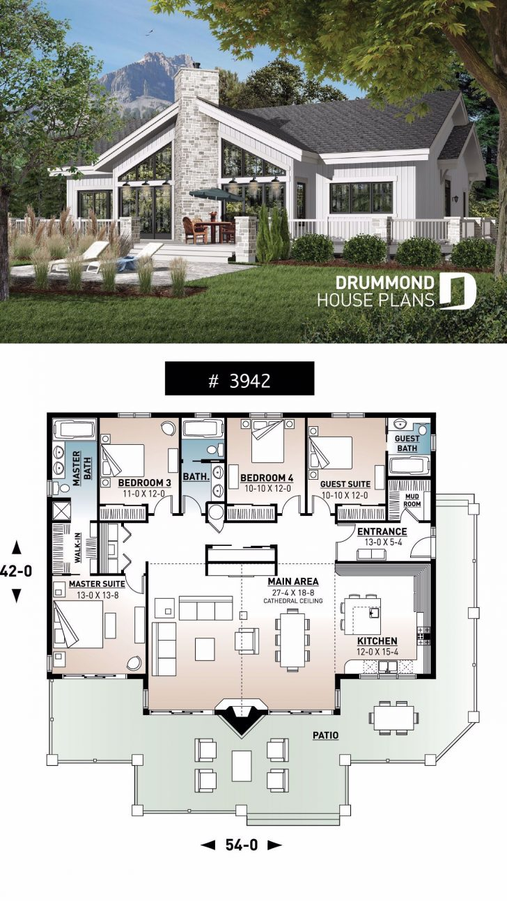 4 Bedroom House Designs 2020