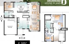 4 Bedroom Modern House Plans Lovely House Plan Caldwell No 3457