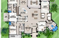 7 Bedroom House Plans Luxury Mediterranean Style House Plan With 7 Bed 6 Bath 3