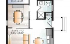 700 Sq Ft House Plans Elegant Contemporary Style House Plan 2 Beds 1 Baths 700 Sq Ft Plan 23 2603