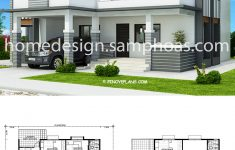 Beautiful House Plans With Photos Beautiful House Plans 17x18m With 4 Bedrooms