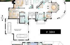 Big House Floor Plans Luxury House Plan The Rotunda No 3844 In 2020