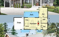 Cheap To Build House Plans Lovely Plan Dr 2 Bed House Plan With Vaulted And Beamed