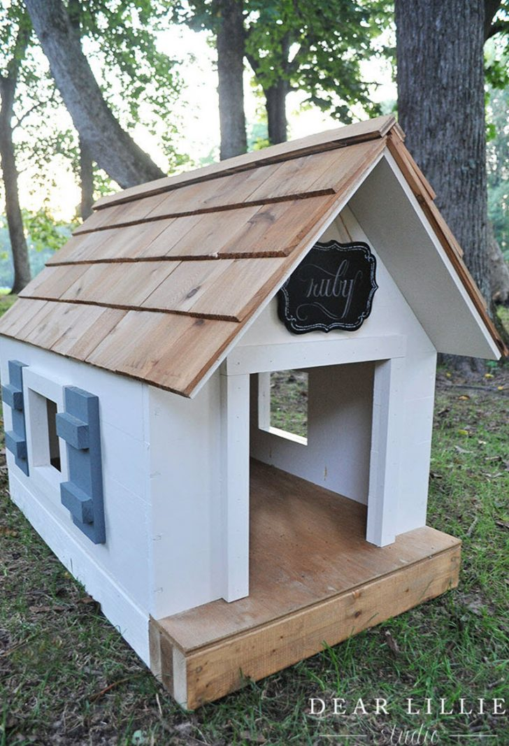 Dog House Plans for Large Dogs 2020