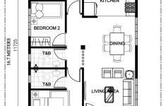 Floor Plan For A House Beautiful Single Storey 3 Bedroom House Plan