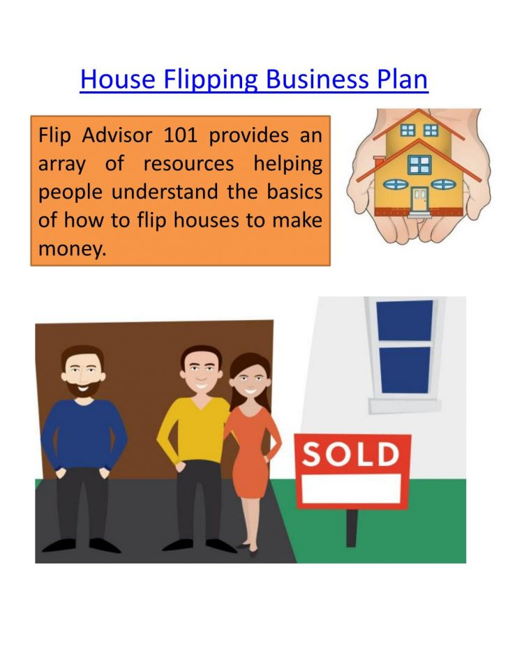 House Flipping Business Plan 2020