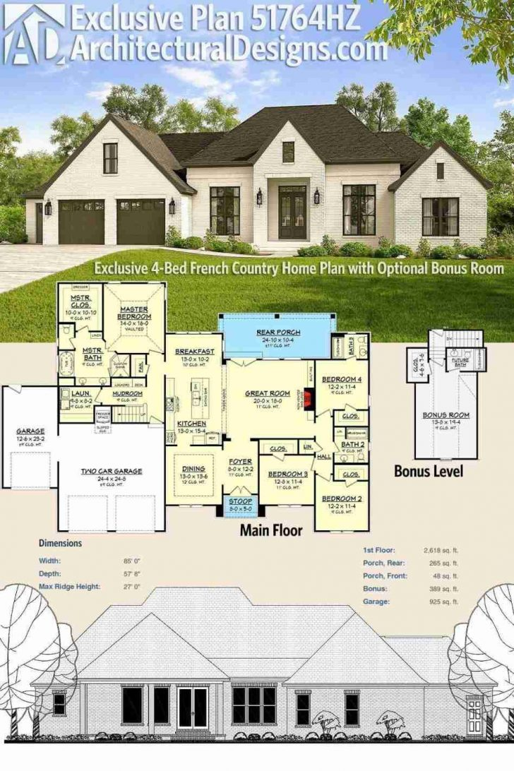 House Plans with Front Porch 2021