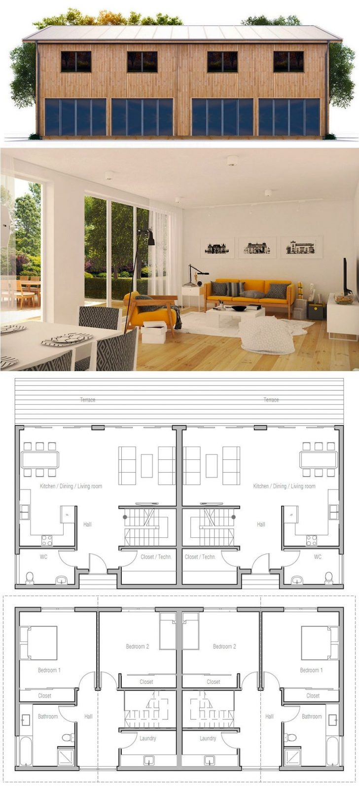 House Plans with Interior Photos 2021