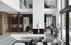 House Plans With Interior Photos Unique Modern Villa With High Ceilings In Sweden