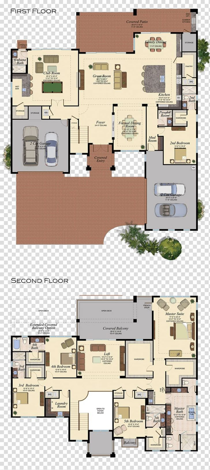 House Plans with Interior Pictures 2020
