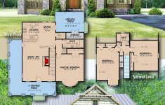 House Plans With Porch Lovely Plan Mk Rustic Cottage House Plan With Wraparound