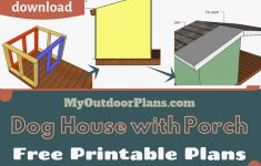 Large Dog House Plans New Dog House Blueprints Pdf Awesome Easy To Follow Plans For