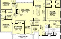 Large House Plans 7 Bedrooms New Gatlin House Plan