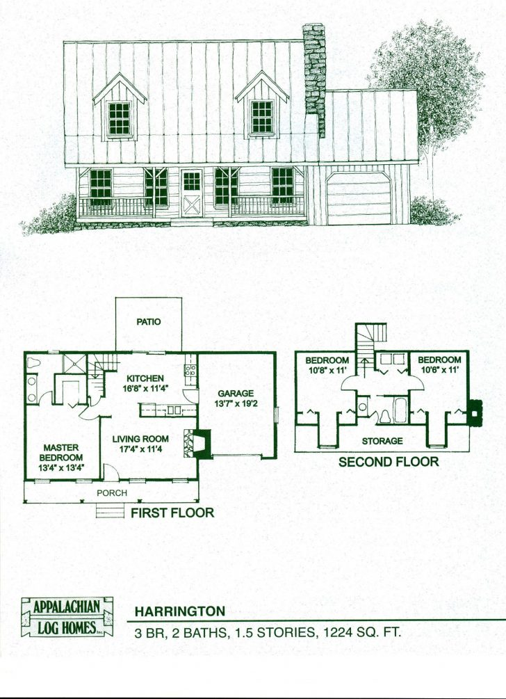 Log Cabin House Plans 2020
