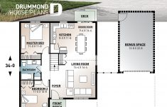 Low Cost House Plans Lovely 2 Large Bedrooms Small & Simple Transitional Style House