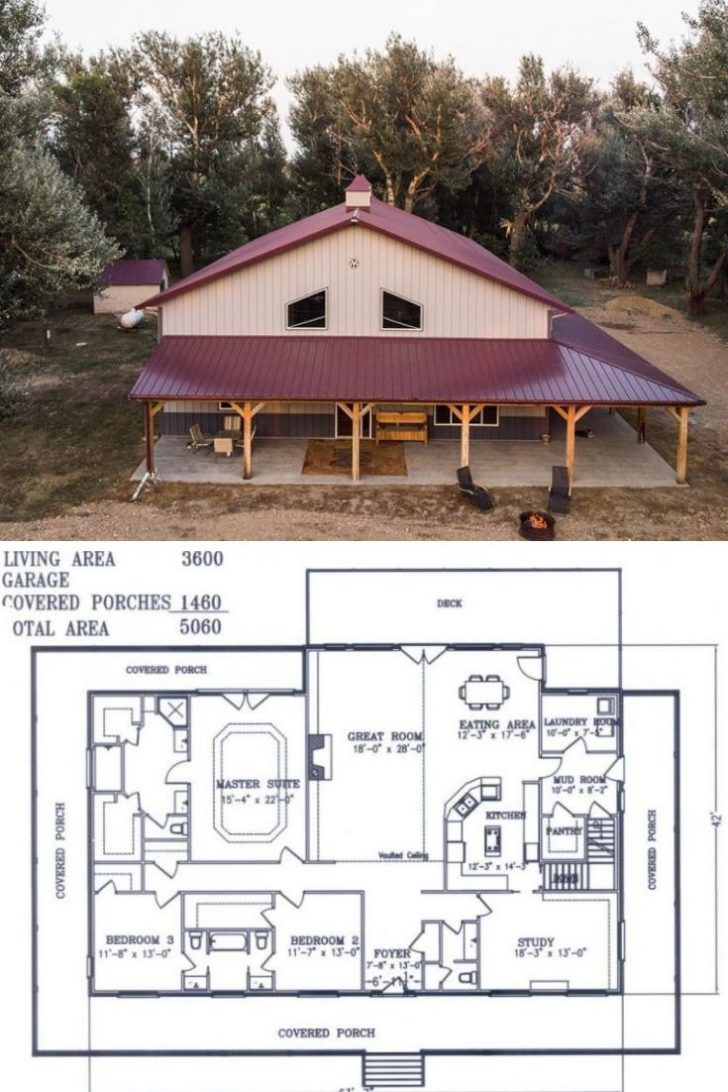 Metal Building House Plans 2020