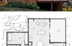 Modern Cabin Floor Plans Unique Small 2 Bedroom Cabin Plan 840sft Plan 891 3