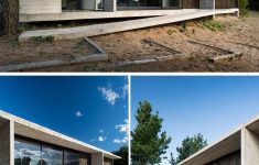 Modern Concrete House Plans Awesome Luciano Kruk Has Pleted A New Wood And Concrete House In