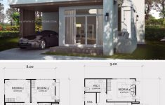 Modern Duplex House Plans Beautiful Home Design Plan 8x13m With 4 Bedrooms