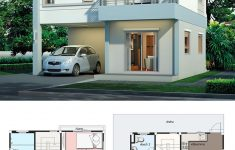 Modern House Designs Pictures Gallery Elegant Modern House Design Plan 7 5x7 5m With 3beds