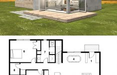 Modern House Plans With Photos Fresh Small Modern Cabin House Plan By Freegreen