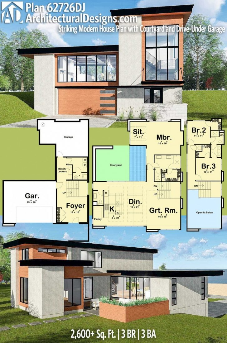 Modern Two Bedroom House Plans 2021