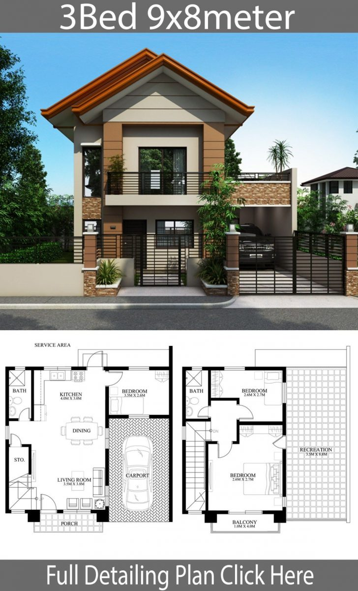 Modern Two Story House Plans 2020