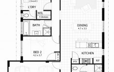 One Story House Plans Awesome E Story House Plans For Narrow Lots