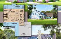 One Story House Plans With Porch Awesome Plan Mk Charming E Story Country Farmhouse Plan With