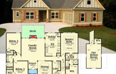 One Story House Plans With Porch Luxury Plan Gb 3 Bed Craftsman With Optional Bonus Room