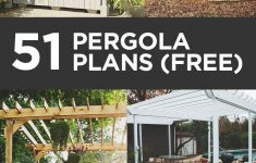 Pergola Plans Attached To House Inspirational 51 Diy Pergola Plans & Ideas You Can Build In Your Garden Free