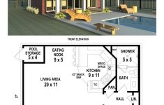 Pool House Floor Plans Beautiful B1 0827 P