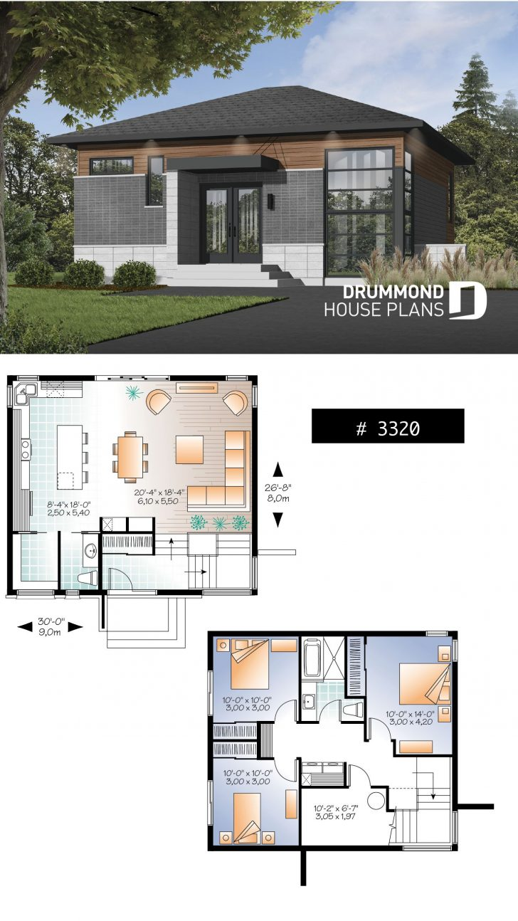 Simple 3 Bedroom House Plans 2020