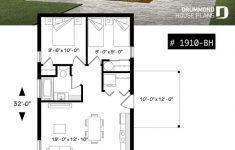 Small 2 Bedroom House Plans Beautiful Small Affordable Modern 2 Bedroom House Plan Open Plan