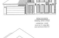 Small 2 Story House Plans Inspirational 2530 0406 Square Feet 4 Bedroom 2 Story House Plan