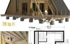"""Small A Frame House Plans Inspirational Emma"""" Is A Very Cozy Small House Really Well Designed For"""