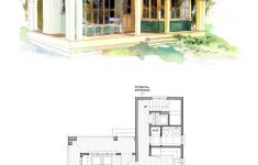 Small Beach House Plans Beautiful Cottage Style House Plan 1 Beds 1 Baths 796 Sq Ft Plan