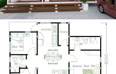 Small Beach House Plans Beautiful House Plans 10x8m With 3 Bedrooms In 2020