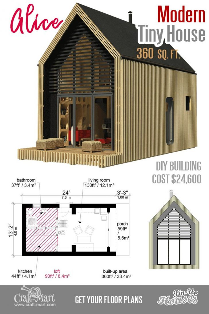 Small House Plans Modern 2020