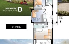 Small Modern Home Plans Inspirational Moderne 631 Sq Ft Winziger Hausplan 2 Bis 3 Schlafzimmer