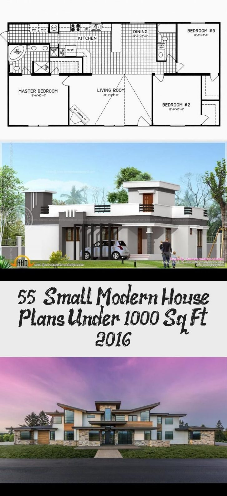 Small Modern House Plans Under 1000 Sq Ft 2021