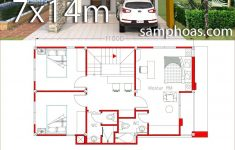 Small Simple House Plans Beautiful Small Home Design Plan 6x11m With 3 Bedrooms