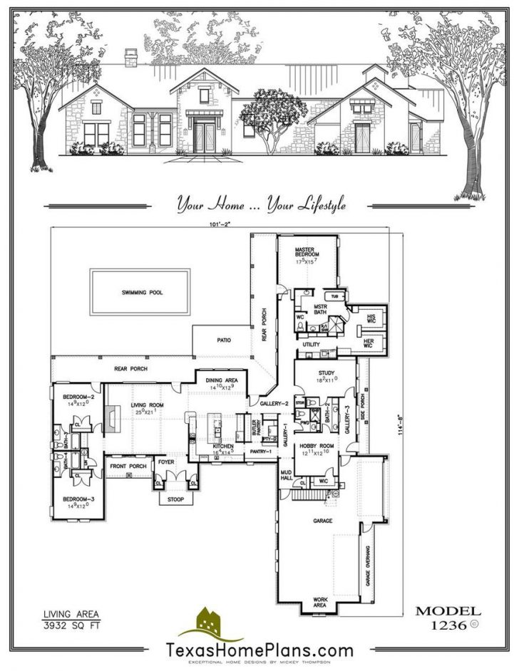 Texas Style House Plans 2021