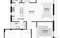 Three Bedroom House Plan Luxury Home Designs With Activity Room