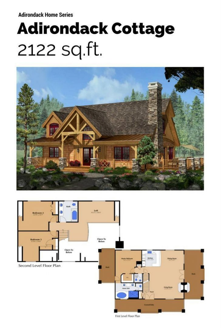 Timber Frame House Plans 2021