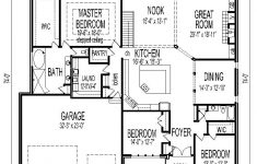 1 Bedroom House Plans With Garage Lovely Tuscan House Floor Plans Single Story 3 Bedroom 2 Bath 2 Car