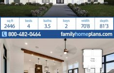 4 Bedroom Barn House Plans Awesome Southern Style House Plan With 4 Bed 4 Bath 2 Car Garage