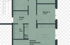 6 Room House Plan Luxury House Apartment Room Floor Plan Square Meter Png