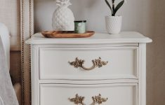 Antique French Provincial Furniture Fresh Diy Makeover On An Antique French Provincial Nightstand … In